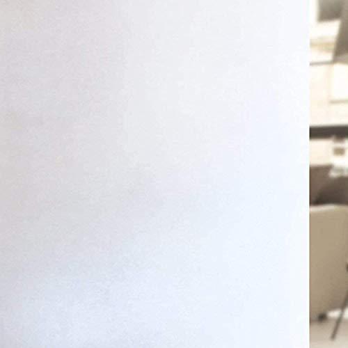rabbitgoo Fensterfolie Selbstklebend Sichtschutzfolie Milchglasfolie Anti-UV Folie für Privatsphäre Büro Badezimmer Schlafzimmer 44.5 x 200 cm