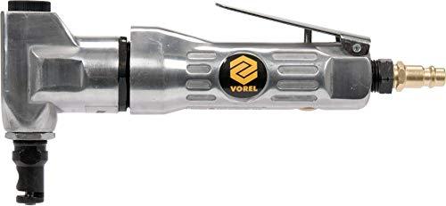 Vorel Druckluft Blechnibbler 3500 U/min, leicht und kompakt, hohe Schnittleistung, 113 l/min, Blechschere Blechknabber