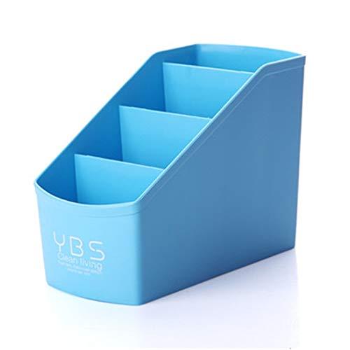 Oficina Organizador Escritorio Organizador De Escritorio Cajón del Escritorio Organizador De Cajas de Almacenamiento de Almacenamiento de cosmético Blue