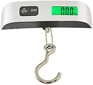 JJJJD Baggage Scale Portable Baggage Scale with Small, High-Precision Electronic Scale for Stripping Function for Travel/Outdoor/Home Use (Size : A)
