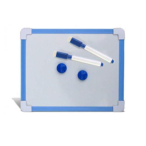 qkdop Magnetische Kids Whiteboard Droog Veeg Board 5 Kleuren Mini Tekenen Witte planken 20,6 * 18,5 cm Klein Ophangbord Gratis Marker Pen