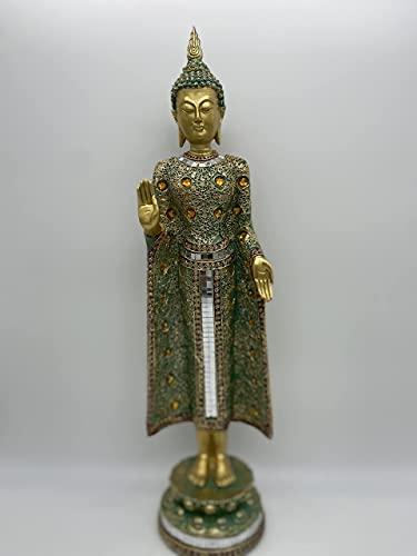 Buddha Statue Colorful Standing Home Decorative Piece, Buddha Statue, Standing Buddha Statue, Buddha Home Decor, Buddha Gifts