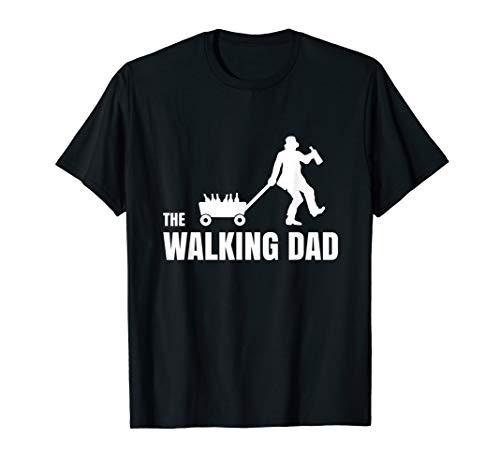 Herren THE WALKING DAD - Lustiges Bier Bollerwagen Vatertag T-Shirt