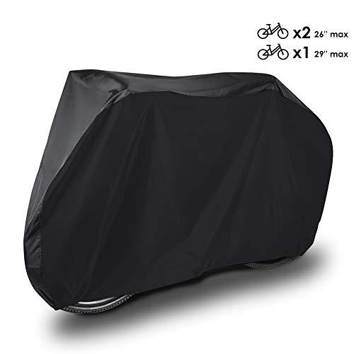 HAUEA Funda para Bicicleta Cubierta Impermeable 190T Protector portátil y Plegable de Poliéster, contra Lluvia,Sol,Polvo 200 x 110 x 70 cm