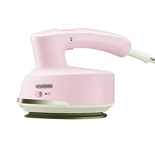 Máquina De Planchar De Mano Máquina de planchado de prendas de mano Máquina de planchado Dormitorio de viaje eléctrico Pequeño cepillo de vapor portátil ( Color : Pink , Size : 12.9x7.2cm )