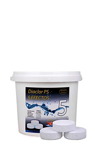 DIASA INDUSTRIAL Cloro para Piscinas DIACLOR PS 5 Efectos 5 KG -...
