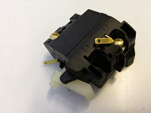 Bosch Interruptor 1607200199 para lijadora recta GGS 28 C/28 CE/28 LC/28 LCE, GGS 8 CE