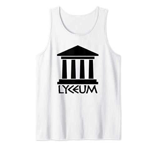 Lyceum - Escuela Aristóteles Antigua Grecia Filosofía Griega Camiseta sin Mangas