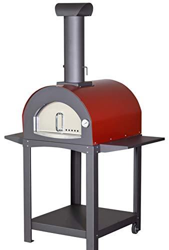 Il Piu' Venduto: Forno a Legna o Gas Professionale per Pizza e Pane. Incluso Kit Pale!Predisposto per bruciatore a Gas Non Incluso!