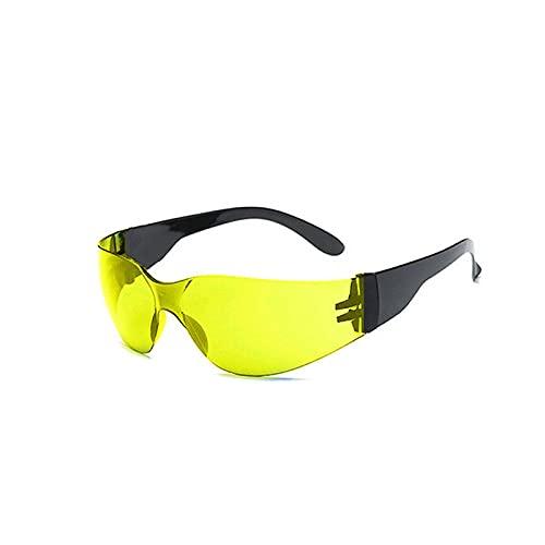 ZXING A prueba de explosiones al aire libre montar gafas de sol para hombres y mujeres jóvenes béisbol equitación correr conducción pesca golf motocicleta PC gafas UV400, color, talla Medium