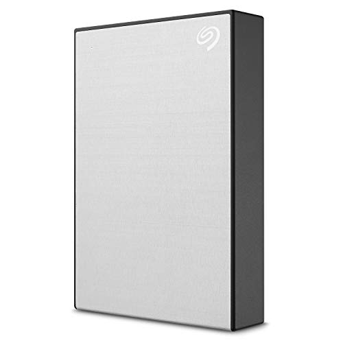Seagate Backup Plus Portable, 4 TB, External Hard Drive HDD, Silver, USB...