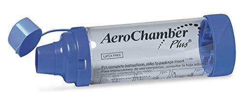 AeroChamber Plus spacer for Fostair inhaler
