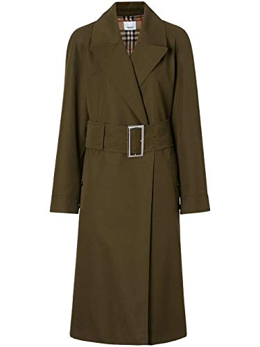 Luxury Fashion | Burberry Dames 8014162 Groen Polyester Trenchcoats | Herfst-winter 19