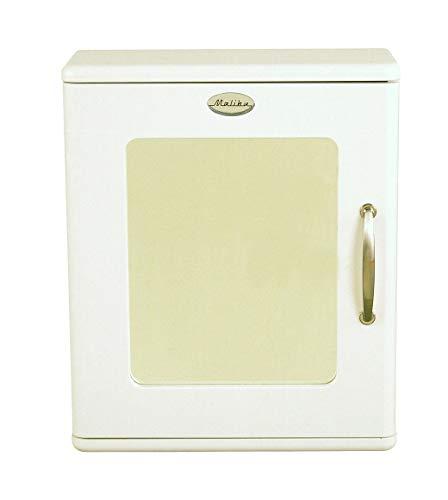 Tenzo 5166-005 Malibu - designer spiegelkast 60 x 50 x 21 cm, MDF gelakt, wit