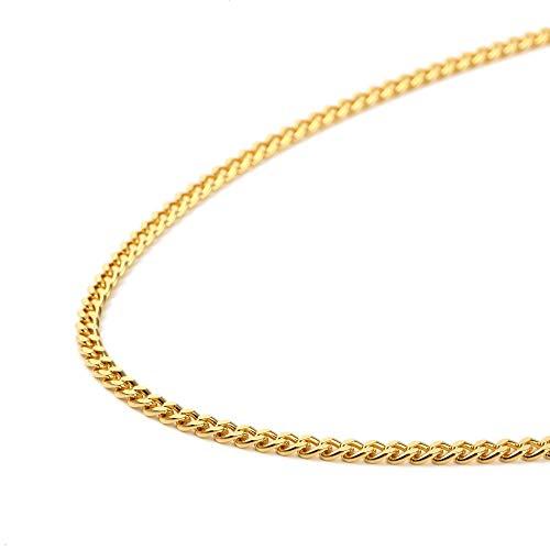 純金 喜平 ネックレス 2面 30g - 50cm 引輪 ゴールド メンズ レディース チェーン K24 造幣局検定マーク刻印入
