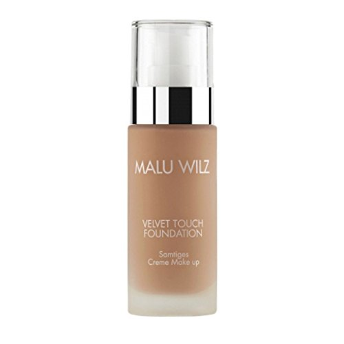 Malu Wilz - Velvet Touch Foundation - True Dark Sand / Nr. 07 - 30ml