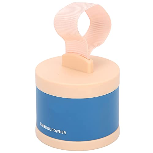 Hairline Powder, Instant Hair Shadow Quick Cover Grijze Haarwortel Lichtbruine Haarlijnpoeder Haarlakpoeder Minerale Haarwortel Concealer voor Mannen en Vrouwen