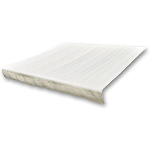vidaXL 141015 luifelstof zonwering luifel doek crème kleuren 6×3 m (zonder frame), stof, één maat