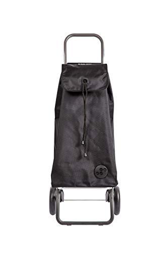 ROLSER Shopping Trolley Rg/I-Max in Black, Polyester, 36 x 19 x 63 cm