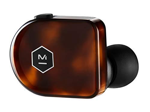 Master & Dynamic MW07 Plus True Wireless Earphones - Noise Cancelling with Mic Bluetooth, Lightweight in-Ear Headphones - Tortoise Shell