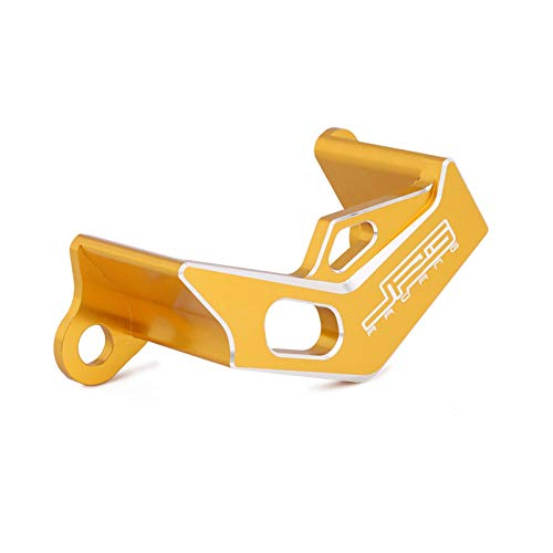 Lijincheng Pinzas de Freno Trasero de Aluminio de la Motocicleta Proteger para Suzuki RMZ250 2007-2017 RMZ450 2005-2017 RMX450 2010-2011 Bicicleta de Tierra