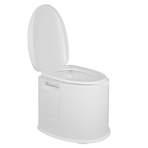 WC mobile, attrezzatura da campeggio WC mobile da viaggio a doppia tenuta WC da campeggio in PP, bambini multifunzionali per anziani in stato di gravidanza all'aperto