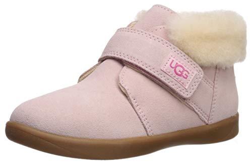 Crocs unisex child Handle It Rain Boot, Candy Pink, 1 Little Kid US