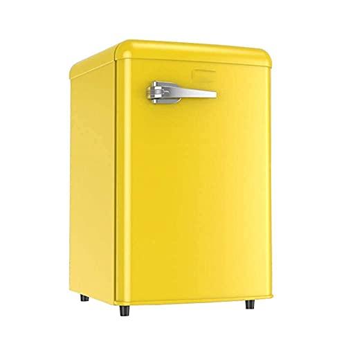 H.Slay SHKUU Freestanding 90L Sottopiano Frigorifero con Maniglia Temperatura Regolabile 90L Compressore da Tavolo Compatto a Basso consumo energetico per la Cucina di casa