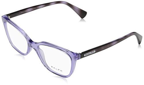 Ray-Ban 0RA7110 brilmontuur, meerkleurig (transparant paars), 52
