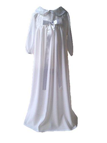 Baby Staab Taufkleid Traditionelles Taufkleid traditionell für Jungen und Mädchen (74/80: 6M-12M)