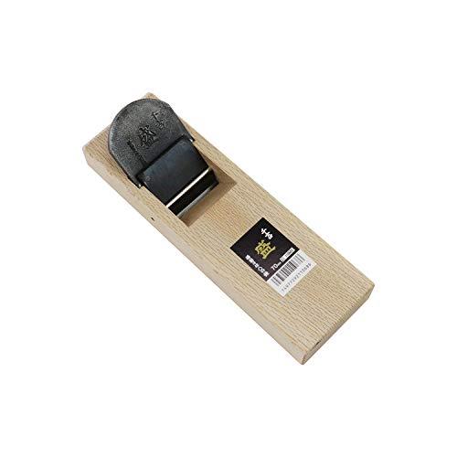 千吉 平かんな 千吉盛 台付鉋 刃巾70mm 木材削り加工用 鋼付 奥行7.7×高さ29×幅9cm