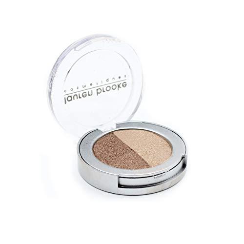 Lauren Brooke Cosmetiques Pressed Eyeshadow Duos, Natural,...