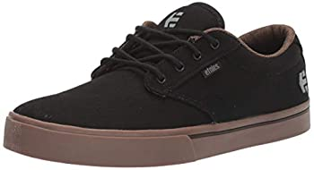 Etnies Men s Jameson 2 ECO Skateboarding Shoes Black 558 Black Charcoal Gum 558 6