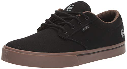 Etnies Men's Jameson 2 ECO Skate Shoe, Black/Charcoal/Gum, 10 Medium US