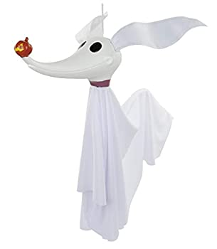 Disney The Nightmare Before Christmas Zero Full Size Poseable Hanging Character Decoration White