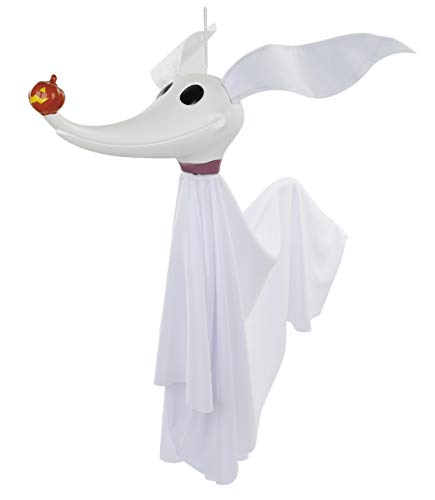 Disney The Nightmare Before Christmas Zero Full Size Poseable Hanging Character Decoration, White