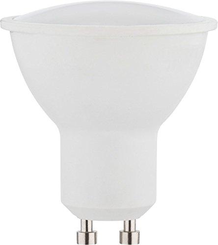 MÜLLER-LICHT LED Reflektorlampe Essentials ersetzt 50 W, Plastik, GU10, 5 W, weiß, 1er Set
