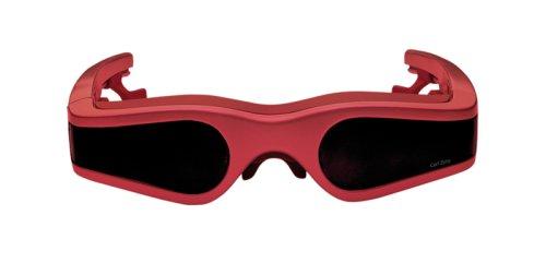 Cinemizer Videobrille rot (B-Ware)