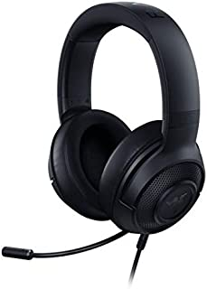 Razer Kraken X Lite: Ultralight Gaming Headset, 7.1 Surround Sound, Lightweight Frame, Bendable Cardioid Microphone, For PC, Xbox, PS4 & Nintendo Switch,  Classic Black - RZ04-02950100-R3M1
