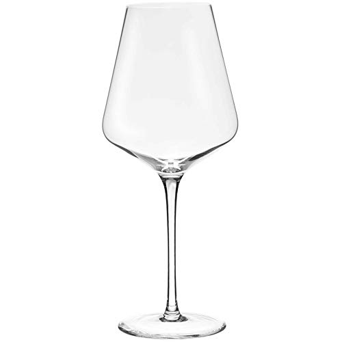 LEHMANN GLASS 6 Verres à vin Clément, Collection Sommier 36 cl