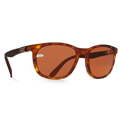 gloryfy onbreekbare eyewear Gi28 Eyelove Sun Yellow Havanna zonnebril, bruin, effen