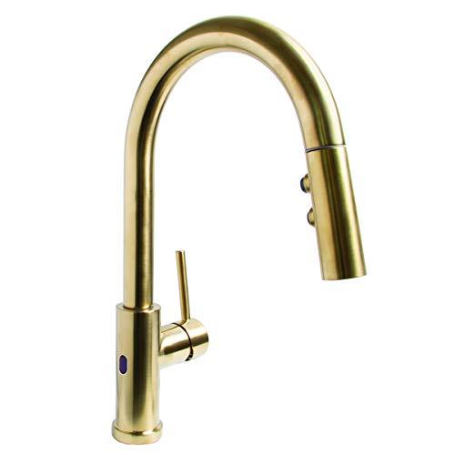 SPEAKMAN SBS-1042-BRB Neo Sensor Pull Down Kitchen Faucet - BRB, Brushed Bronze