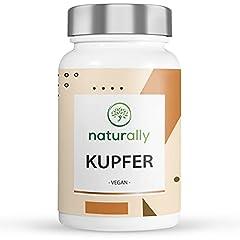 Kupfer-Tabletten Mit 2mg