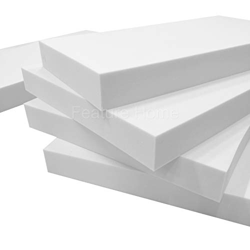 Foam for Sofa Cushion Replacement - Medium-Firm Upholstery Foam (5' (12.7 cm) Thick, 22' x 22')