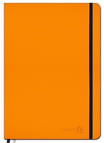 PERSEN Schuljahresplaner classic 2021/22 - Amazing Sunset, Lehrerkalender für alle Klassenstufen, Ledereinband & Spanngummi, Ferienkalender, 17 x 24 cm, 224 Seiten