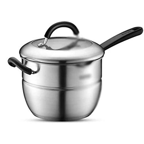 HHTD Vaporizador De Acero Inoxidable De Acero Inoxidable Sopa De Sopa Pot Milk Pot Multiésimo Poticion Induction Cocina Inducción Universal Doble Bott Full Steamer
