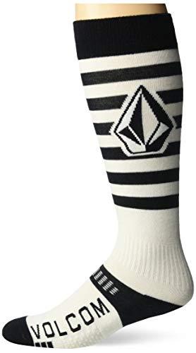 Volcom Herren KOOTNEY Socken zum Snowboarden, schwarz, Small-Medium