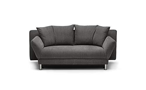 REPOSA LUTAGO Sofas, Stoff, Dunkelgrau, 200 x 103 x 88 cm