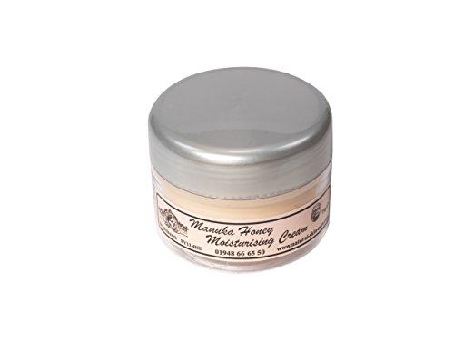 Crème Hydratante Miel de Manuka 75g. Fabriqué par Elegance Natural Skin Care en Grande-Bretagne