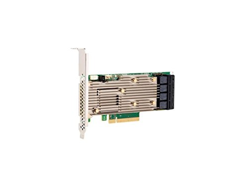 Broadcom 05-50011-00 9460-16i Speichercontroller (RAID) - Plug-in-Karte - Low-Profile Schwarz/Grün